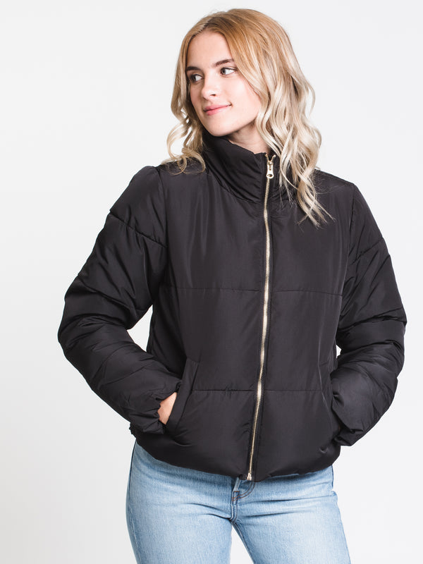 WOMENS ERICA SHORT JACKET - BLACK