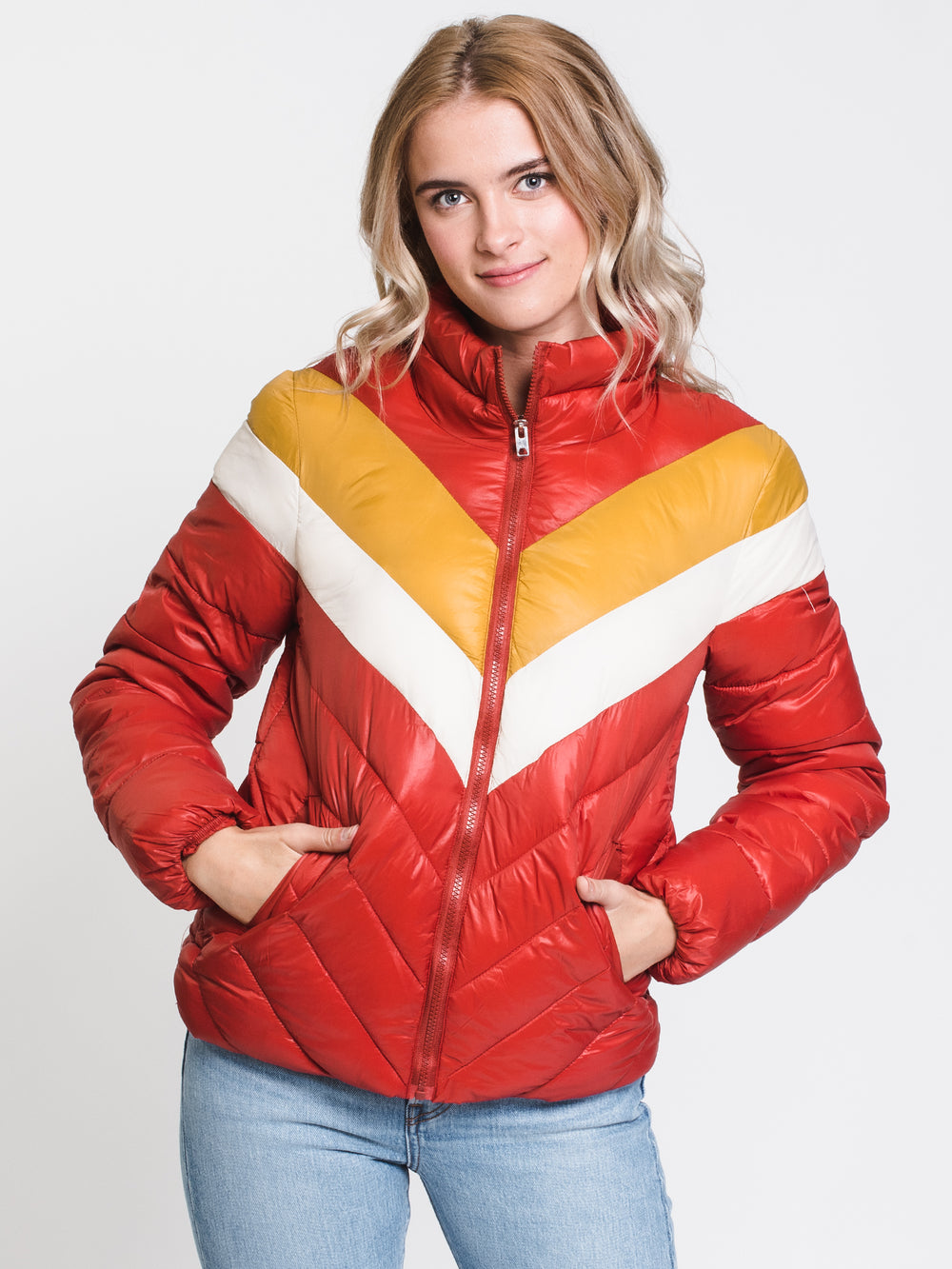 WOMENS LUCA PADDED JACKET - TANDOORI