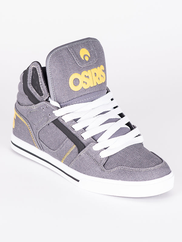 MENS CLONE - GREY/YELLOW/WHITE - CLEARANCE
