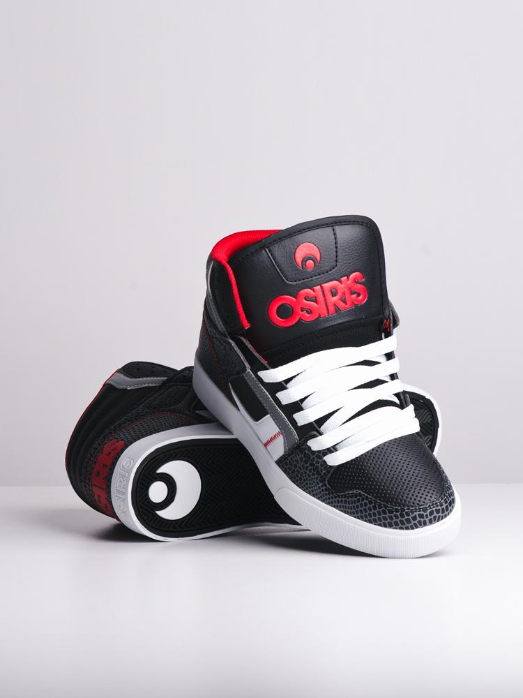 MENS CLONE BLACK/RED/GATOR SNEAKERS