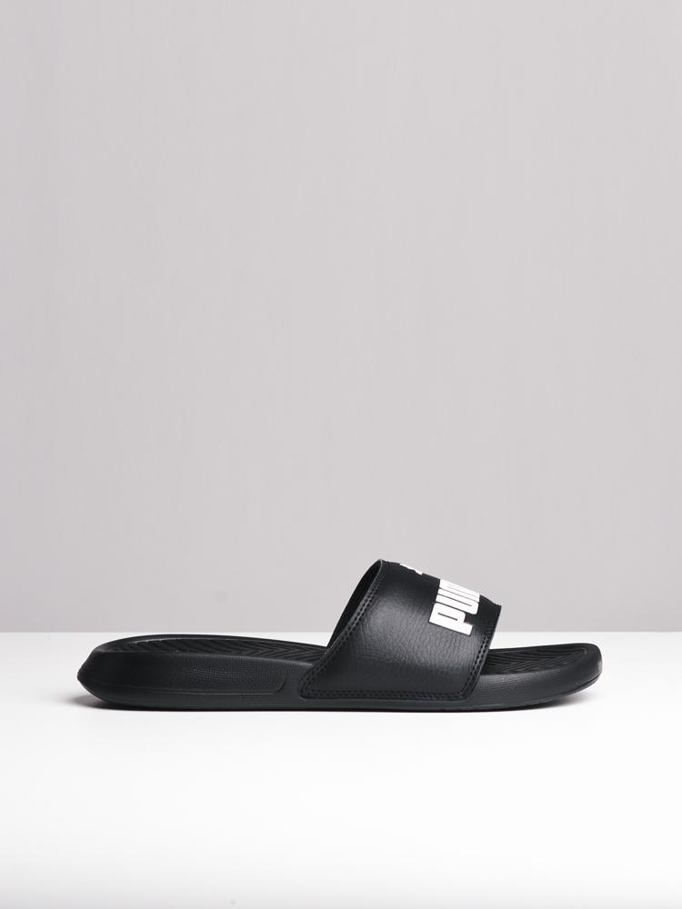 WOMENS POPCAT BLACK/WHITE SANDALS