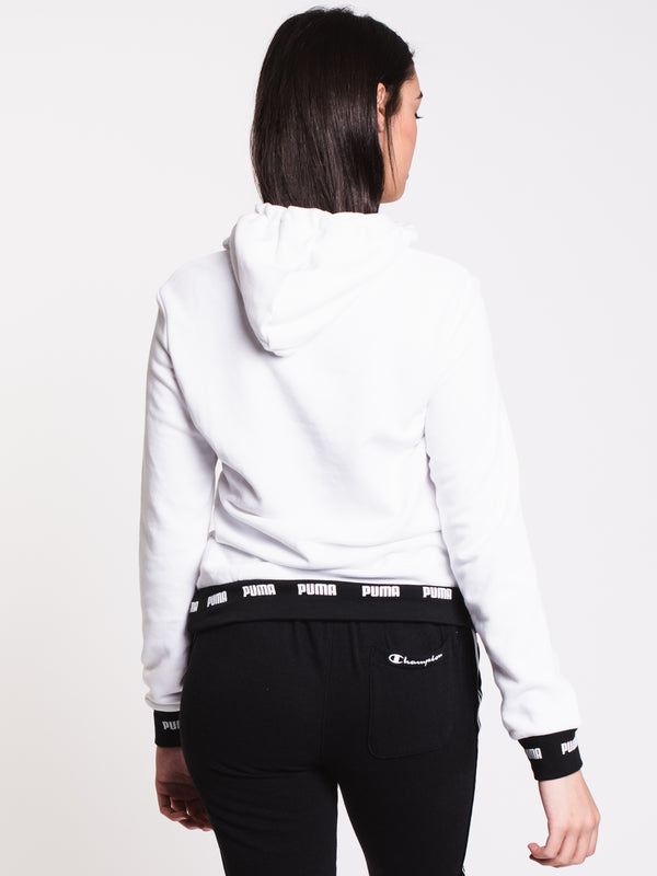 WOMENS AMPLIFIED HOODIE TR - WHITE