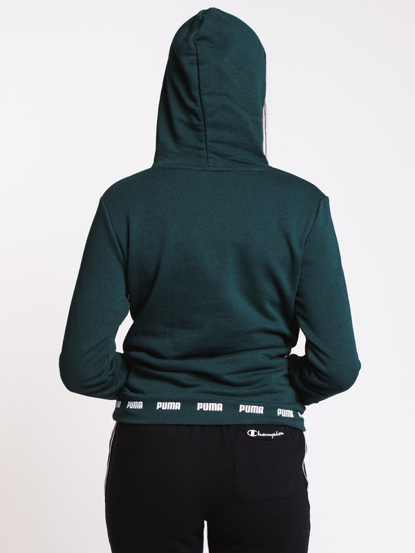 WOMENS AMPLIFIED HOODIE TR - PINE