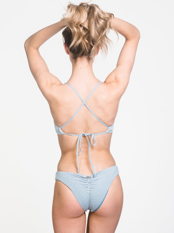 X-BACK BRALETTE - STRIPE