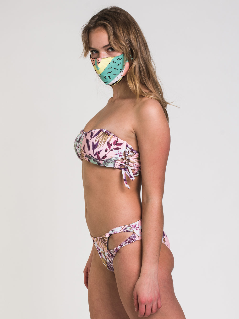 IF I STAY BANDEAU - FLORAL
