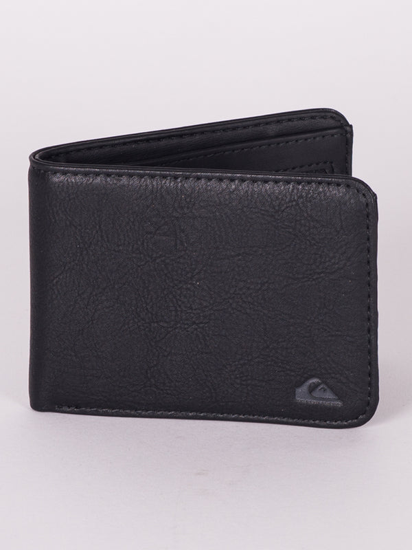 SLIM VINTAGE PU - BLACK - CLEARANCE