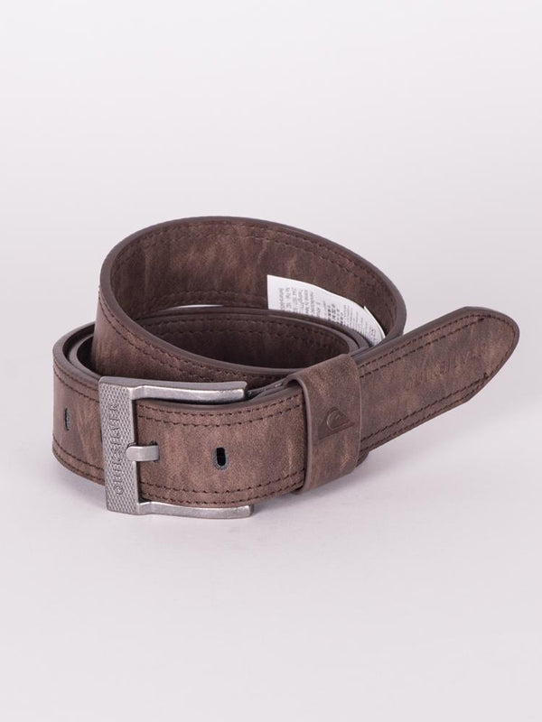 STITCHY UPDATE PU BELT - BRN