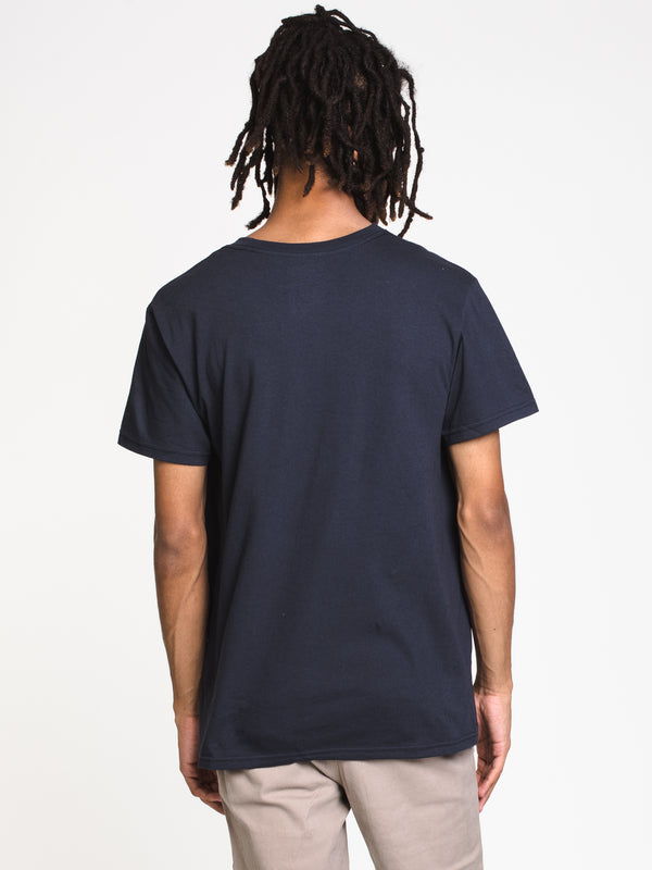 MENS LOST FIRE SHORT SLEEVE TEE- NAVY BLAZER