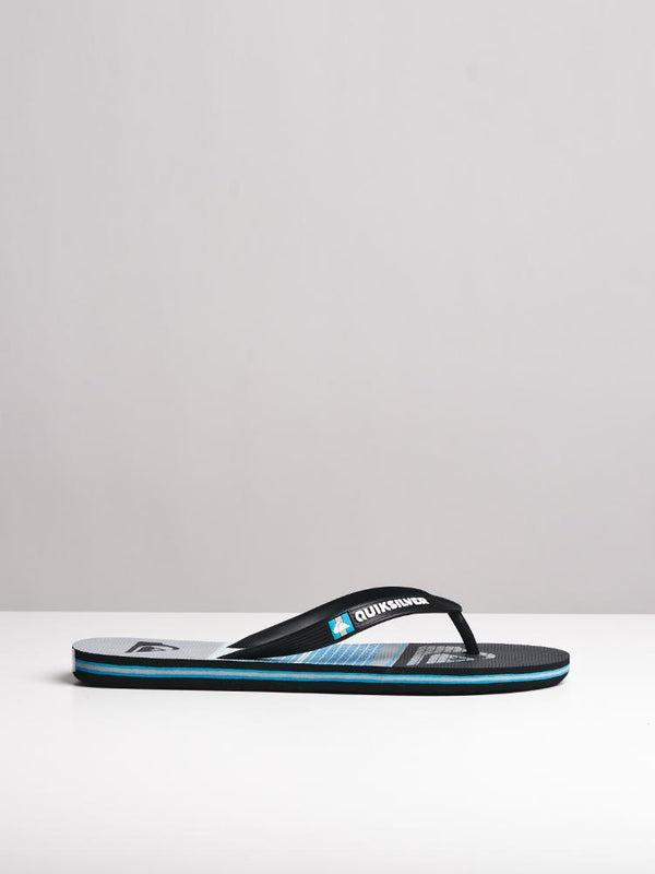 MENS MOLOKAI HIGHLINE SLAB BLACK SANDALS