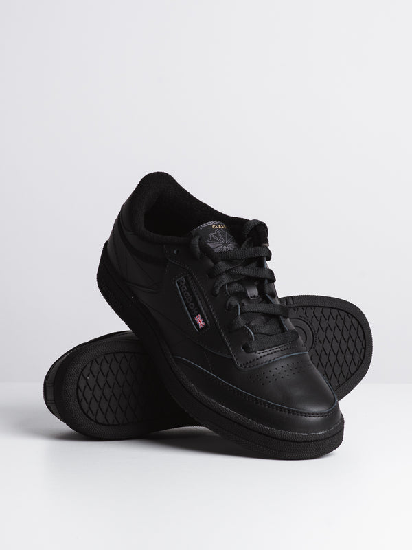 MENS CLUB C 85 - BLACK/CHARCOAL