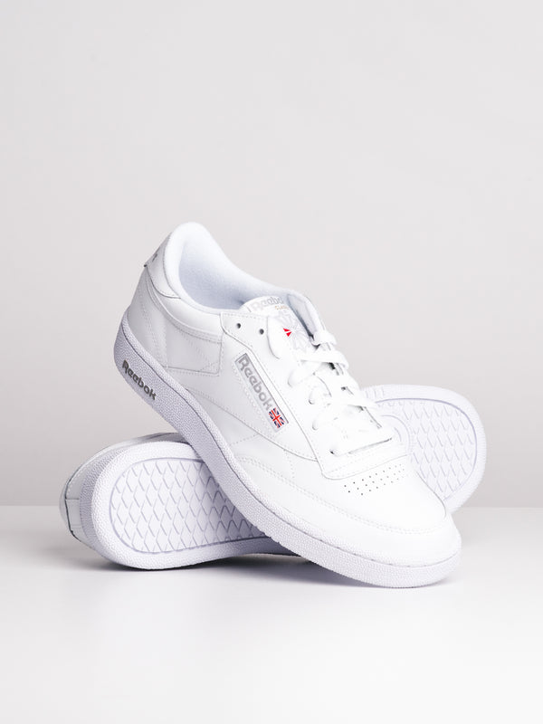 MENS CLUB C 85 WHITE/SHEER GREY SNEAKERS