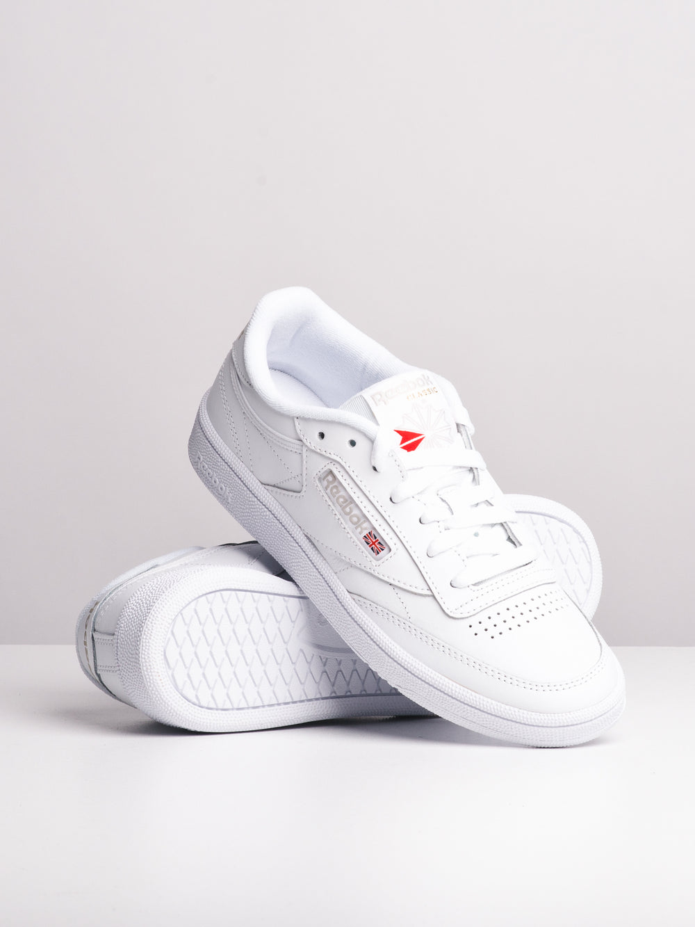 WOMENS CLUB C 85 WHITE/GREY SNEAKERS