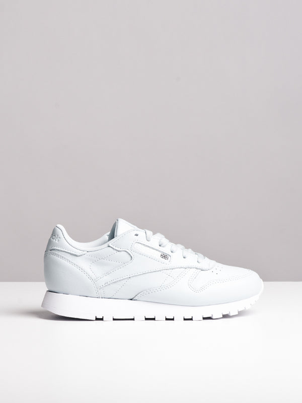 WOMENS CL LEATHER X FACE BLUE/WHITE SNEAKERS- CLEARANCE