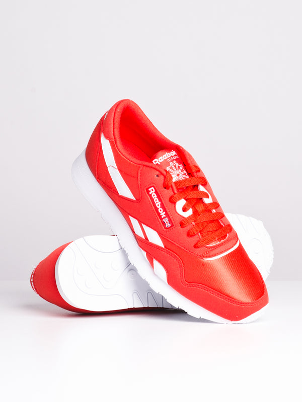 WOMENS CL NYLON CLR - RED/WHITE
