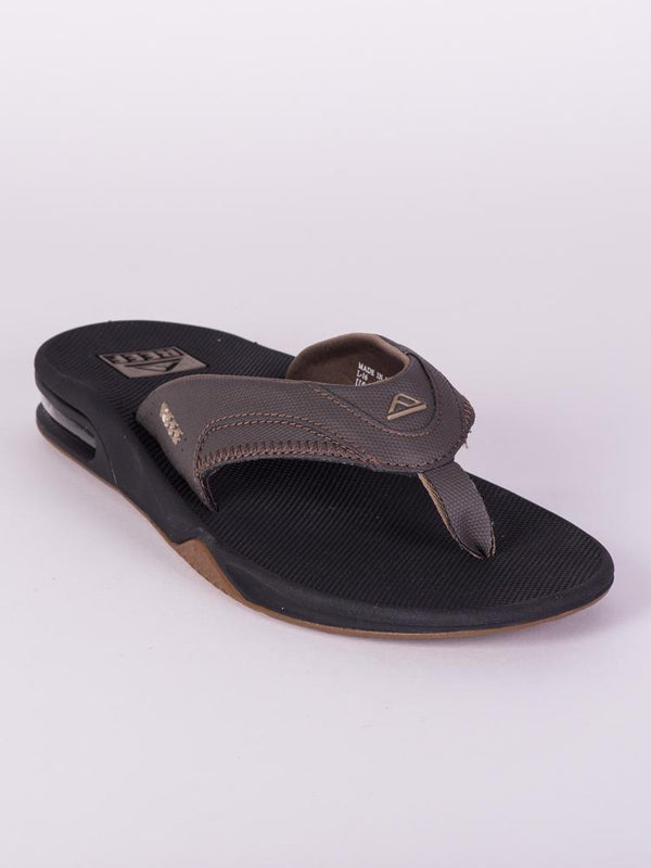 MENS FANNING VINTAGE BROWN SANDALS- CLEARANCE