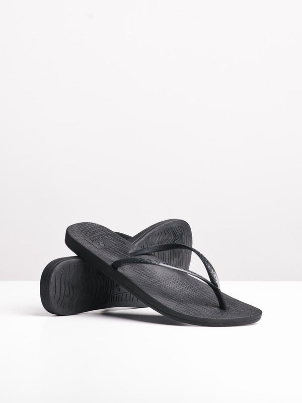 WOMENS REEF ESCAPE LUX BLACK SANDALS- CLEARANCE