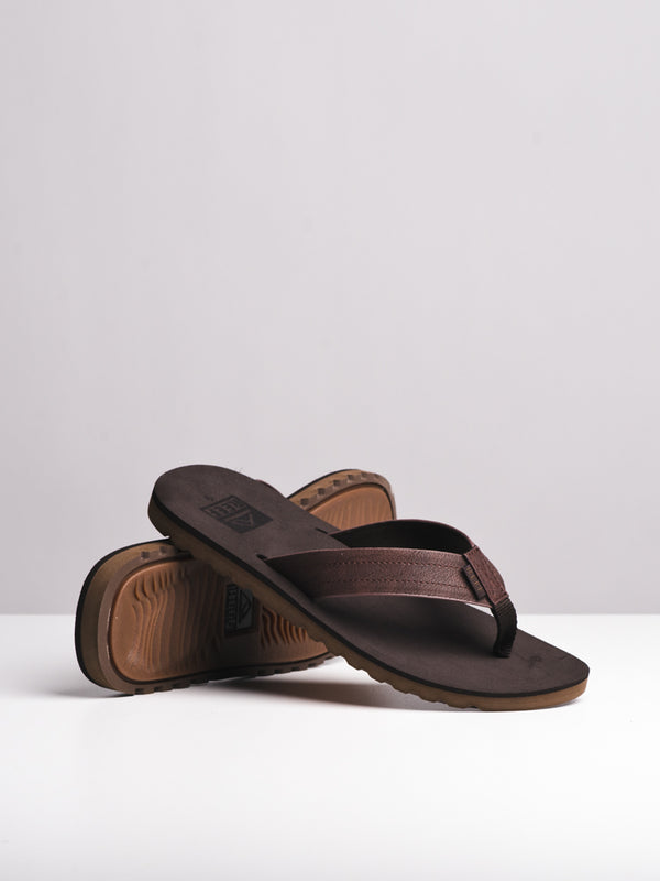MENS REEF VOYAGE BROWN SANDALS