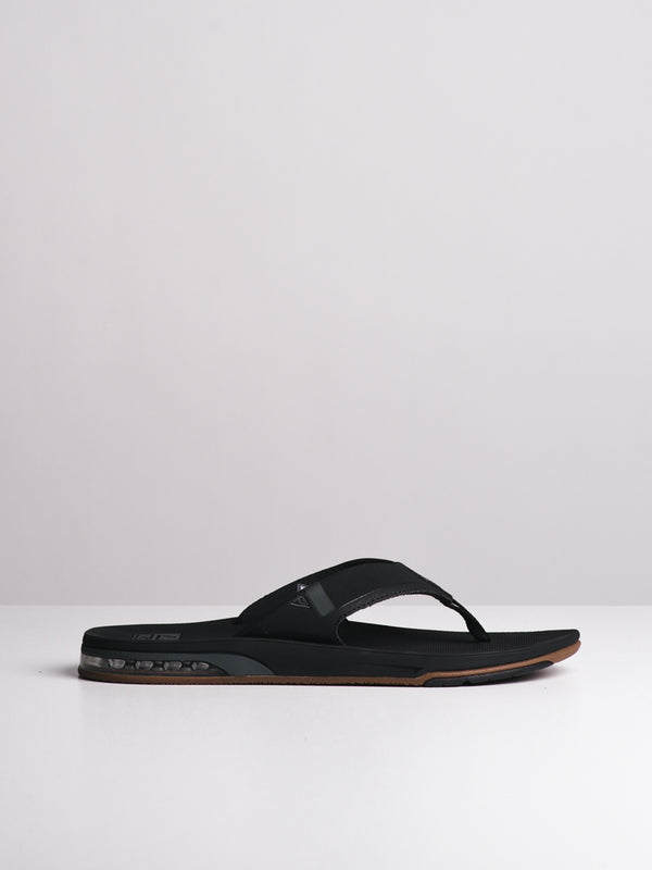 MENS FANNING 2.0 BLACK SANDALS