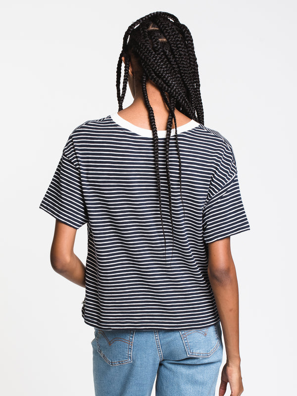 WOMENS INFINITY BEAUTY STRIPE TEE