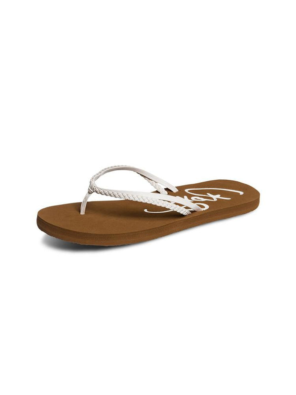 WOMENS CABO WHITE SANDALS- CLEARANCE
