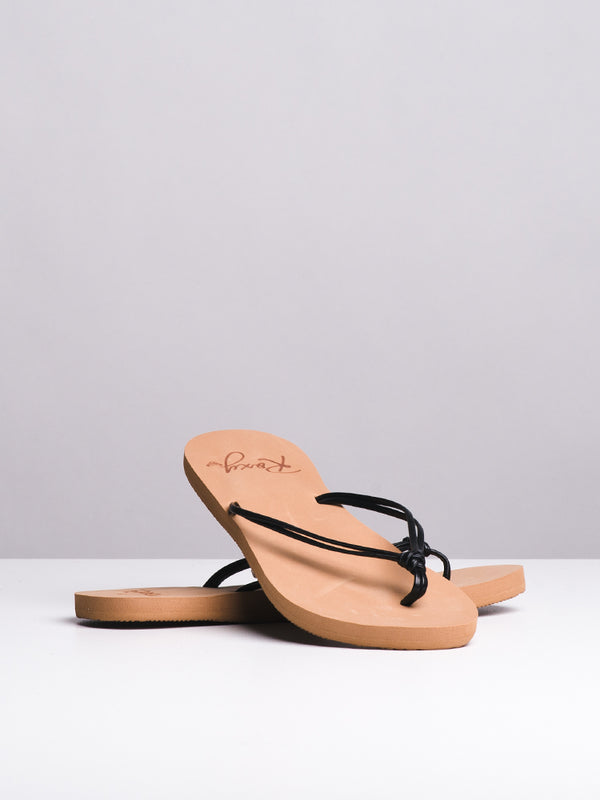 WOMENS LAHAINA II BLACK SANDALS