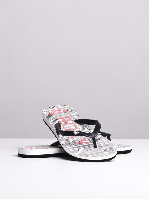 WOMENS TAHITI VI BLACK/WAVE PRINT SANDALS