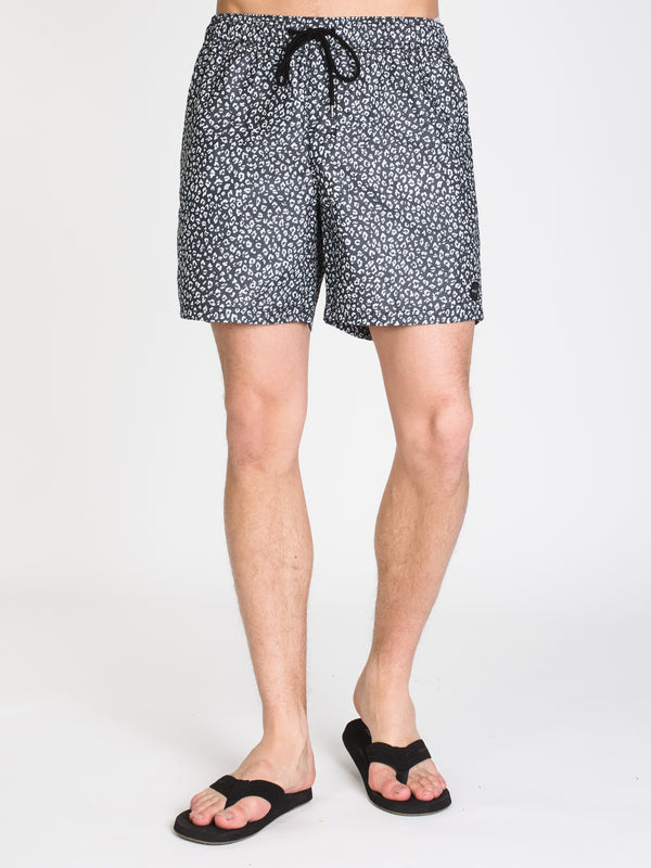 MENS CLUB ELAS 17' SHORT - BLACK