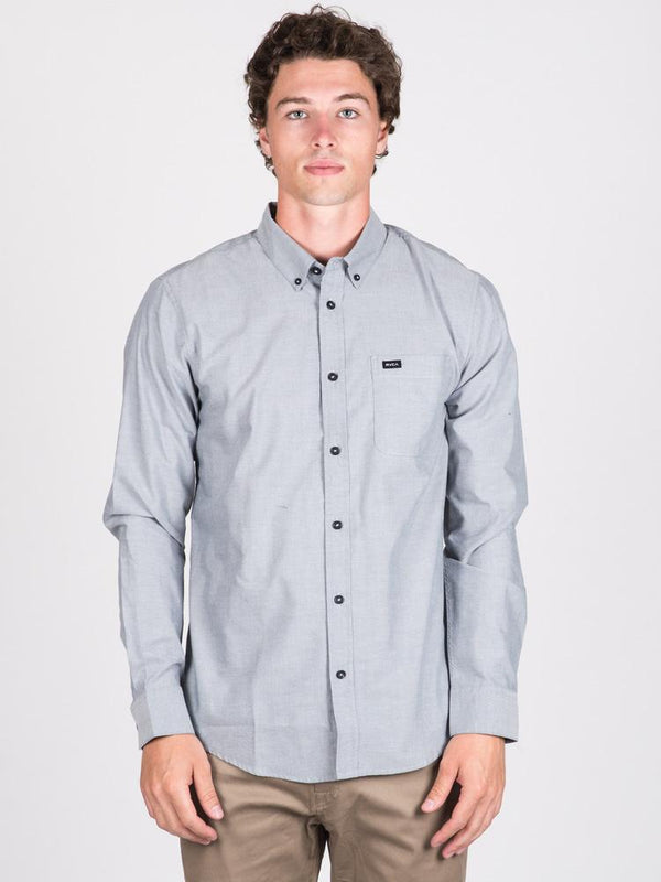 MENS THAT'LL DO LONG SLEEVE OXFORD