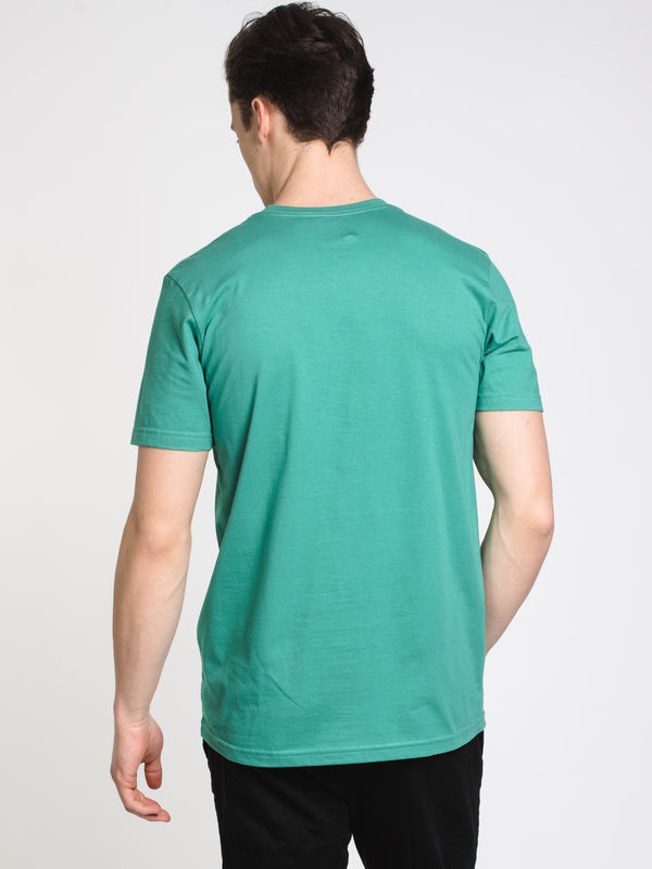 MENS BIG RVCA SHORT SLEEVE T-SHIRT- VIN GREEN
