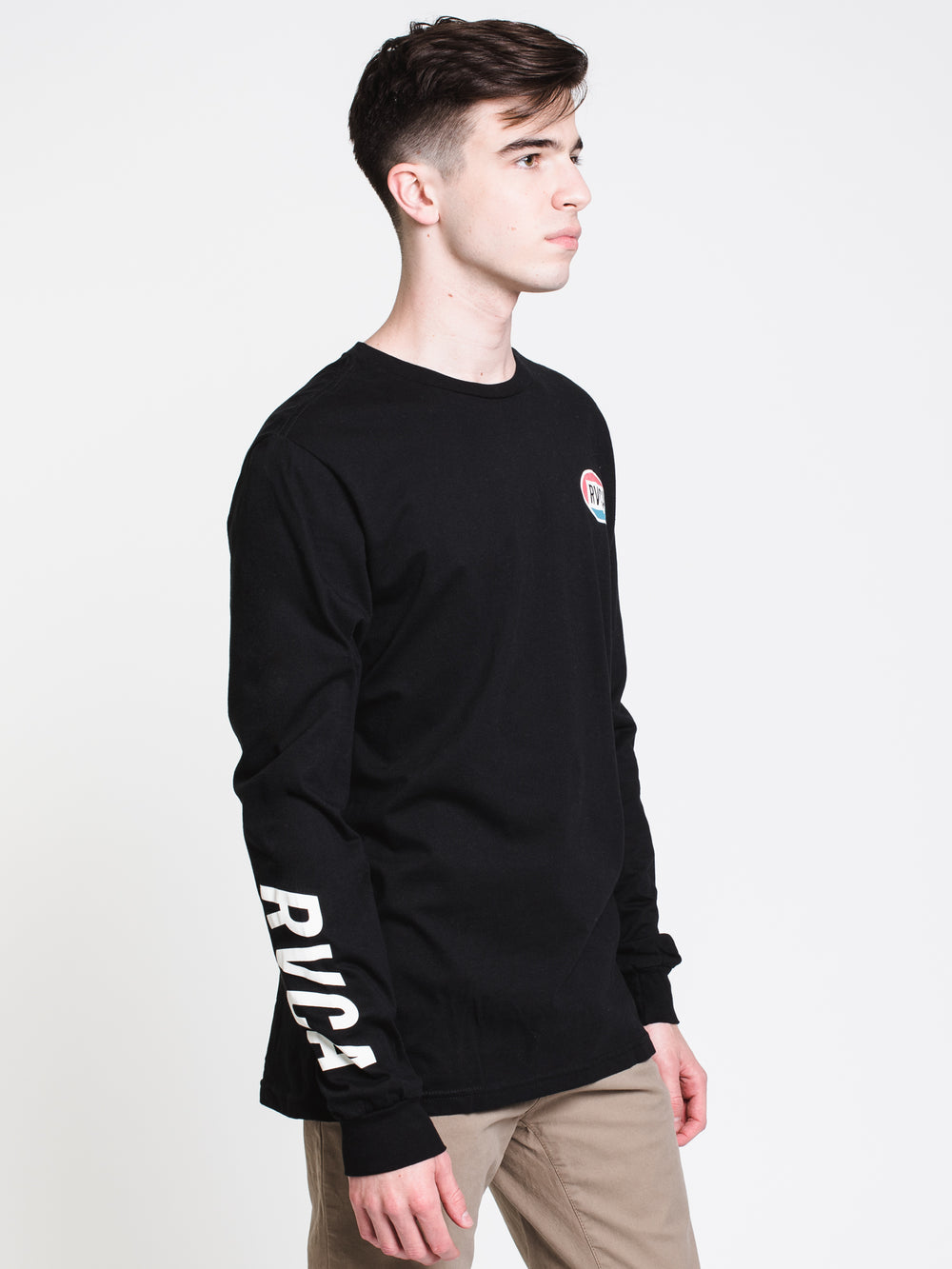 MENS CORTEX L/S T - BLACK