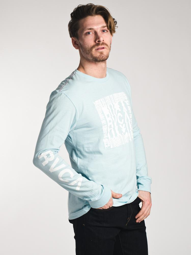 MENS DISRUPT LONG SLEEVE T-SHIRT - COSMOS MINT- CLEARANCE