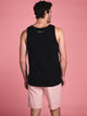 MENS HAVE FUN TANK TOP - BLACK- CLEARANCE