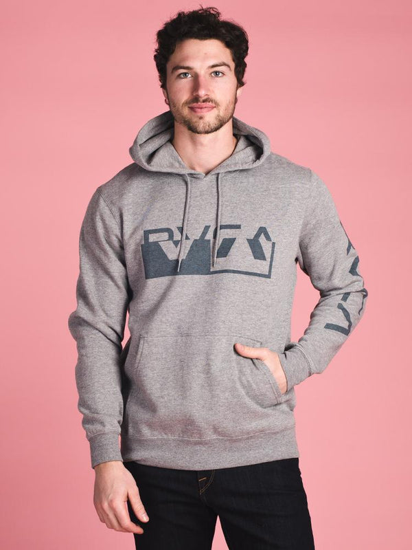 MENS CO BRAND PULL OVER HOODIE