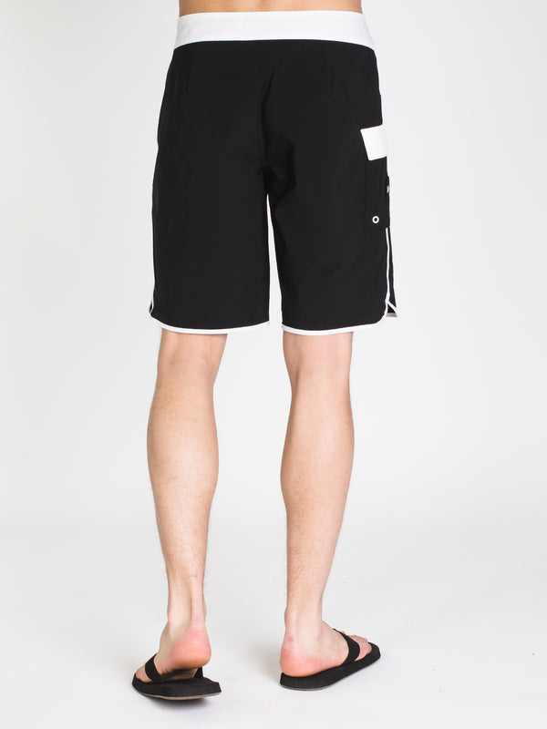 MENS EASTERN 20' TRUNK - BLK/WHT