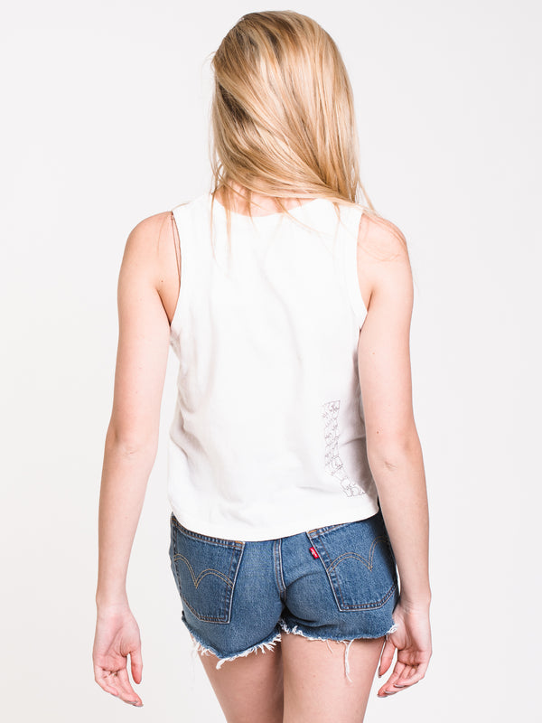WOMENS PERSPECT TANK - WHITE