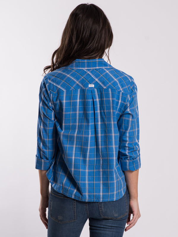 WOMENS SUBJECT BUTTON UP  - CLEARANCE