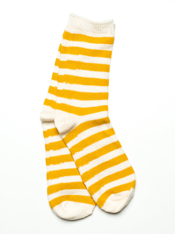 STRIPE BASIC - OCHRE/WHITE-D5