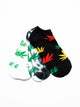 WEED ANKLE 3PACK - MULTI-D4