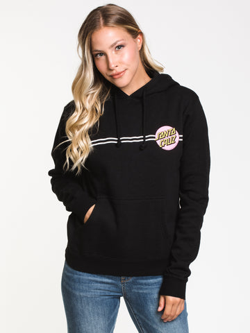 0bfb21b7b WOMENS OTHER DOT PULL OVER HOODIE - BLK