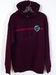 MENS OTHER DOT PULLOVER HOODIE - MAROON