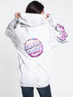 WOMENS THROWDOWN DOT PULLOVER HD - SILVER