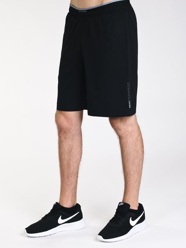 MENS KINETIC 2IN1 TRAIN SHORT-BLK