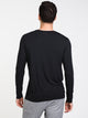 MENS SLEEPWALKER LONG SLEEVET-SHIRT- BLACK