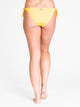 KNOTTIE SIDE BIKINI BOTTOM - GOLD