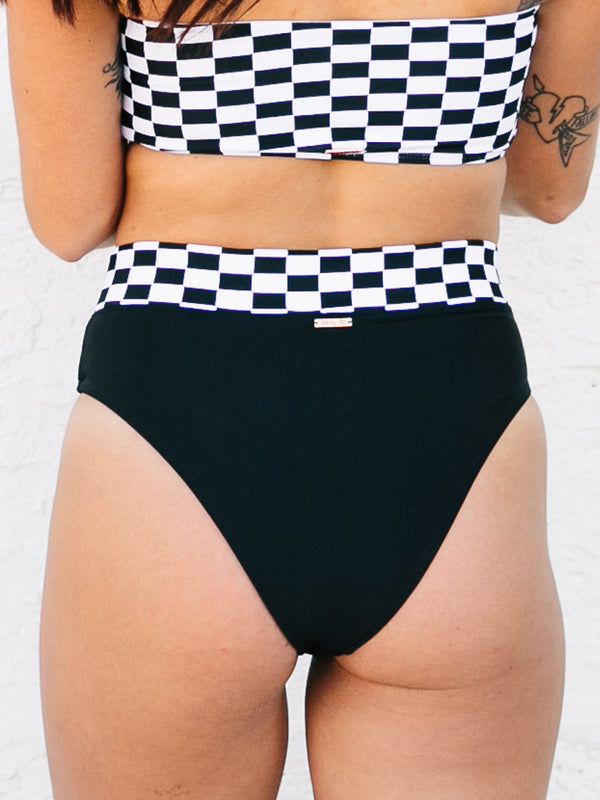 RACE TEAM BANDED HW SWIM BOTTOMS