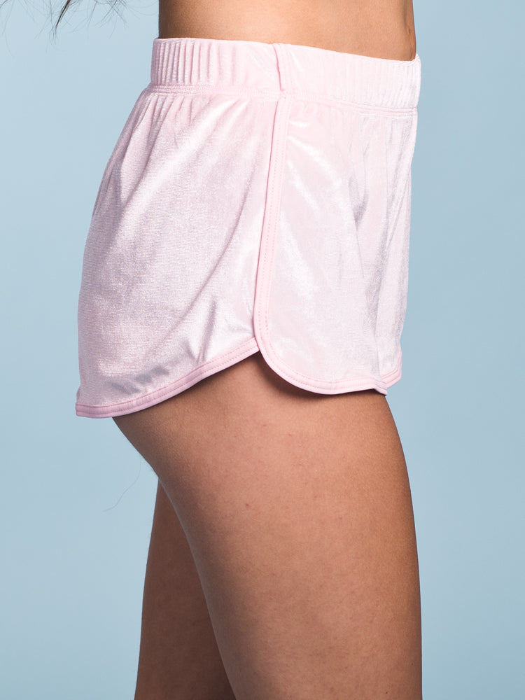 WOMENS VELVET COVER UP SHORT