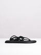 WOMENS YOGA SUNSHINE BLACK SANDALS- CLEARANCE