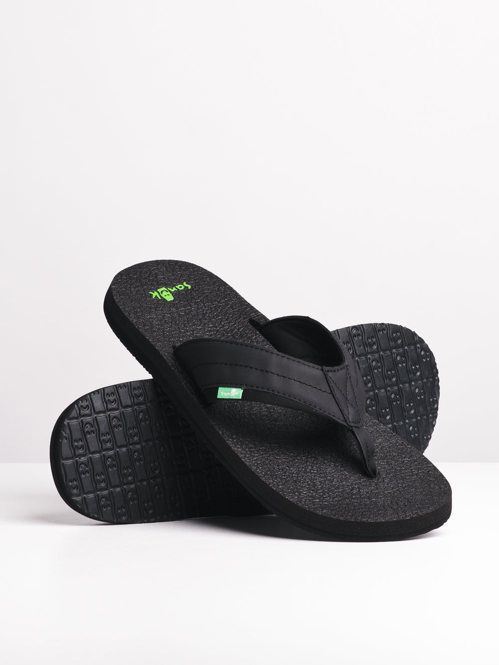 MENS BEER COZY II BLACK SANDALS