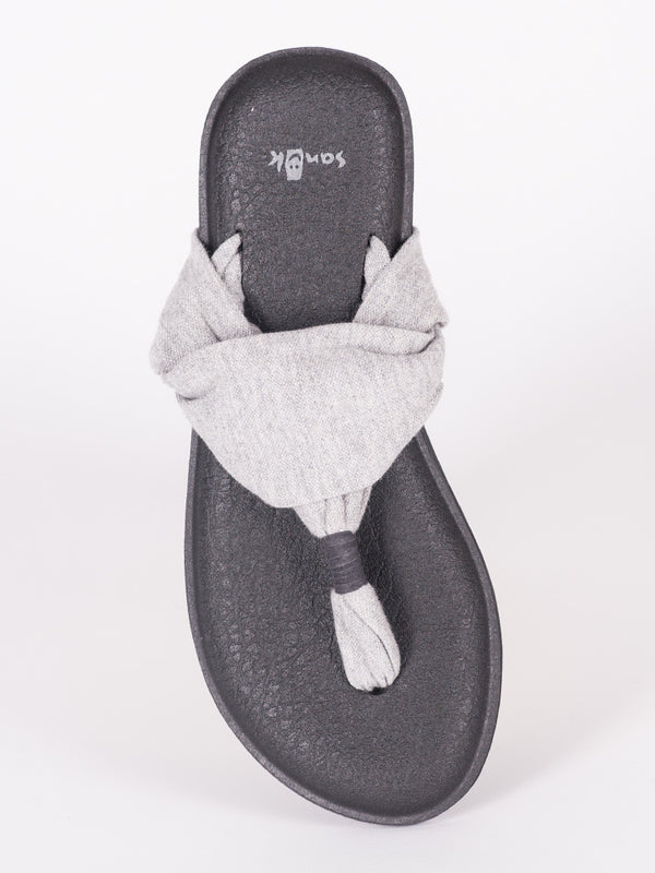 WOMENS YOGA SLING 2 GREY SANDALS