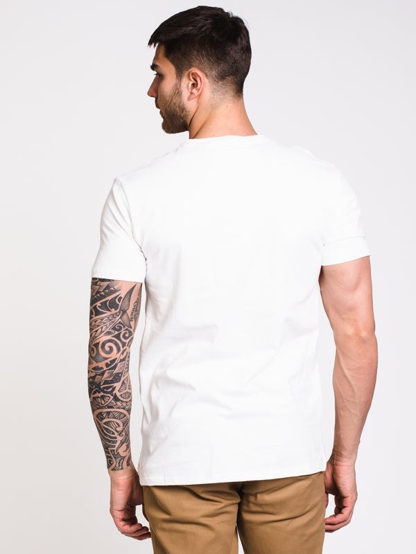 MENS VINTAGE APP LOGO SHORT SLEEVE T-SHIRT - OFF